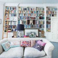 Photo of bookcase by Hooper Interiors